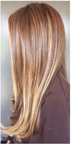 Colorist and ombré expert Johnny Ramirez shares a before & after of a beautiful brunette ombré color. Johnny added selective caramel highlights throughout, giving her a soft, sun-kissed look. S...