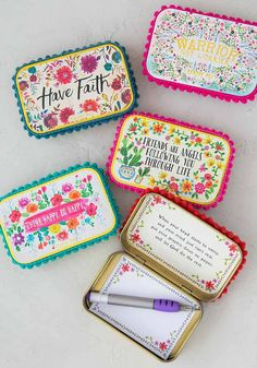 Prayer Boxes You are in the right place about diy gifts just because Here we offer you the most beau Diy Christmas Gifts For Friends, Diy Holiday Gifts, Homemade Christmas Gifts, Homemade Gifts, Christmas Crafts, Diy Gifts In A Box, Small Gifts For Friends, Christmas Ideas, Christmas Ornaments