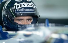Damon Hill of the Williams-Renault Team during the Testing held at the Silverstone Circuit in Silverstone, England on the July, (Photo by Professional Sport/Popperfoto/Getty Images) Damon Hill, Formula One Champions, Williams F1, F1 Drivers, F1 Racing, Courses, Riding Helmets, Sports Teams, March
