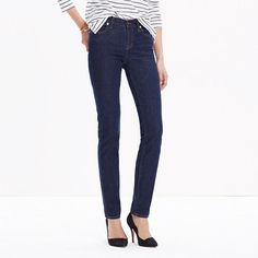 Madewell - Alley Straight Jeans in Davis Wash