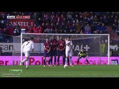 ▶ Cristiano Ronaldo Amazing Free Kick Goal ~ Osasusna vs Real Madrid 0-1 ( Copa Del Rey ) HD - YouTube