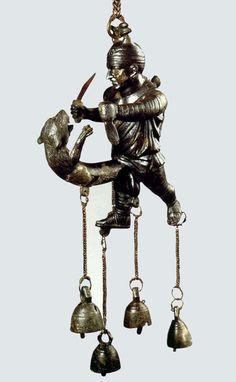 Tintinnabulum in the Form of an Ithyphallic Gladiator 1st Century BC