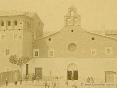 Fotografía antigua: ZARAGOZA. BELCHITE. SEMINARIO. HACIA 1890. GRAN TAMAÑO. - Foto 2 - 47638562