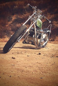 vintage chopper pic...got to love old school choppers! Easy rider baby! Started it all,the true chopper!!