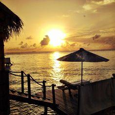 First Sunset at Gili Lankanfushi, Maldives