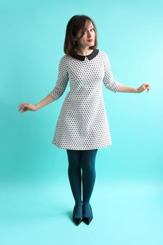 Francoise Dress by Tilly and the Buttons