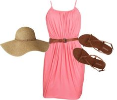 beach wear, created by teamga7 on Polyvore