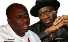 Governor Rotimi Amaechi and President Goodluck Jonathan | credits:  As the battle of wits between President Goodluck Jonathan and Governor Rotimi Amaechi of Rivers State continues unabated, information managers are having a herculean task in their attempts to defend the positions of their principals