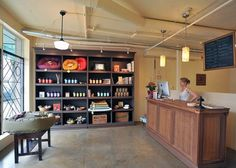 -Repinned-Reception and retail area at Spa Dog.