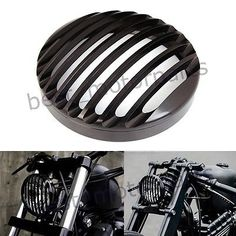 16464 motorcycle-parts MOTORCYCLE BLACK CNC ALUMINUM HEADLIGHT COVER FOR HARLEY SPORTSTER XL 883 1200  BUY IT NOW ONLY  $30.89 MOTORCYCLE BLACK CNC ALUMINUM HEADLIGHT COVER FOR HARLEY SPORTSTER XL 883 1200... Headlight Covers, Harley Davidson Iron 883, Bobbers, Vroom Vroom, Motorcycle Parts, Chopper, Subaru, Cnc, Grid