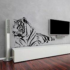 Wall Decals Tiger Decal Vinyl Sticker Nursery Bedroom Home Decor Room Interior Design Art Murals MN804