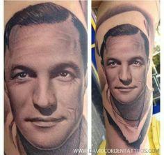 Gene Kelly by tattoo artist David Corden
