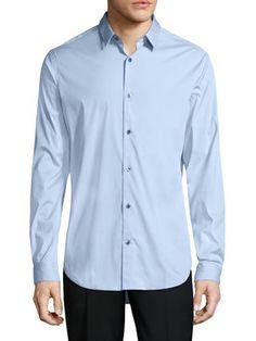 Vince - Manhattan Cotton Stretch Sportshirt