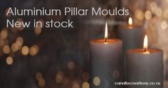 Create your own soy pillar candles