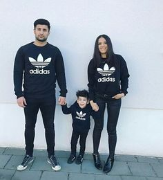 We need these sweaters!!! Families who match their clothes are the coolest :) like come on!