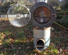 Four. Rocket oven.
