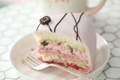 I wish I could send you all a piece of cake, You all deserve a piece. I might not say it enough but I am grateful for all your comments and like by passionforbaking Small Desserts, Just Desserts, Delicious Desserts, Pink Desserts, Brownie Cake, Pie Cake, Baking Recipes, Cake Recipes, Dessert Recipes