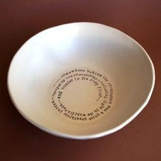 Ceramic bowl by Kylie Johnson - Paper Boat Press
