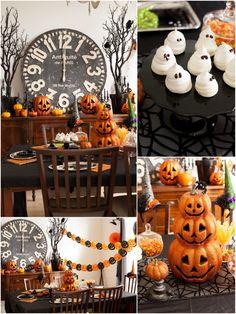 Easy Halloween party ideas