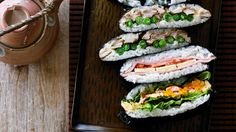 Adam Liaw Sushi Sandwiches.