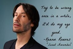keanu reeves quotes - Google Search