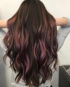 Chocolate mauve color