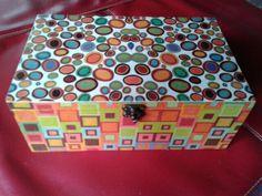 Caja decoupage - Lorena Belart