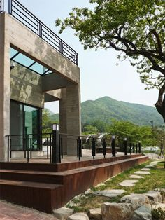 Small modern homes images of different indian house for Small house design korean