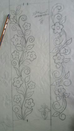 Marvelous Crewel Embroidery Long Short Soft Shading In Colors Ideas. Enchanting Crewel Embroidery Long Short Soft Shading In Colors Ideas. Mexican Embroidery, Hand Work Embroidery, Hand Embroidery Stitches, Embroidery Needles, Crewel Embroidery, Embroidery Techniques, Ribbon Embroidery, Border Embroidery Designs, Machine Embroidery Designs