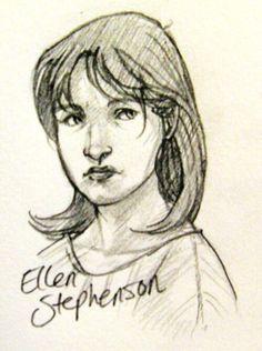 Ellen Stephenson, drawn by zalaznyart on tumblr!
