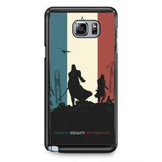Assasin Creed Arts TATUM-1024 Samsung Phonecase Cover Samsung Galaxy Note 2 Note 3 Note 4 Note 5 Note Edge