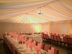 Rectangle Table Wedding Reception Ideas | Wedding Reception in Our Marquee Download a brochure here