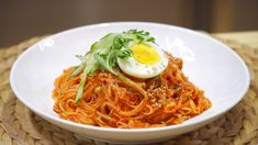 Spaghetti, Ethnic Recipes, Korean, Food, Korean Language, Essen, Meals, Yemek, Noodle