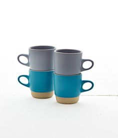 Heath Winter Collection - Rim Stack Mugs