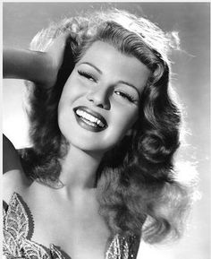Rita Hayworth--her picture says it all! This music/dance clip is fabulous! Not the biggest fan of the BeeGees, but this song from the 1970's with Rita's dancing from the 30's and 40's is a favorite of mine! http://www.youtube.com/watch_popup?v=mz3CPzdCDws