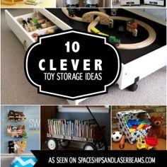 10 Clever Toy Storage Ideas