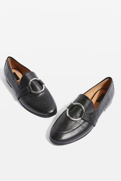 **WIDE FIT Kreme Ring Loafers