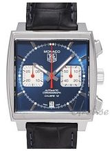 TAG Heuer Monaco Calibre 12 Blue Dial Leather CAW2111.FC6183
