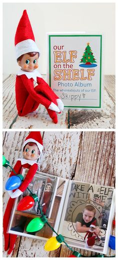 Best Absolutely Free DIY Elf on the Shelf Photo Album. Costs about 2 bucks to make. Too fun! – Elf On The Self , . Tips DIY Elf on the Shelf Photo Album. Costs about 2 bucks to make. Too fun! – Elf On The Self , Christmas Elf, All Things Christmas, Christmas Crafts, Christmas Ideas, Elf On The Self, The Elf, Elf Yourself, Christmas Preparation, Christmas Traditions