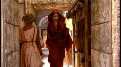 Doctor Who - Karen Gillan (Amy Pond) as a Soothsayer in The Fires of Pompeii . . . I had no idea!!