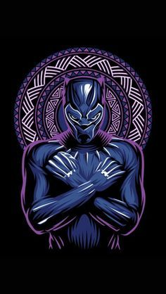 Wakanda King Black Panther Art iPhone Wallpaper - iPhone Wallpapers