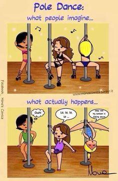Pole #thetruth #pole #fitness #polefitness #poledance