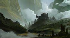 Return, Dylan Scher on ArtStation at https://www.artstation.com/artwork/return-310d482f-b573-427a-bdbf-d347c37c5989