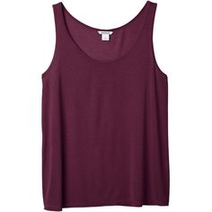 Monki Aida singlet (8.75 CAD) ❤ liked on Polyvore featuring tops, shirts, tank tops, tanks, cult wine, rayon shirts, wine shirt, purple tank, wine tank and wine tops