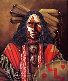 Native Americans Indians Art by jd challenger