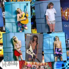 """#defleppard #joeelliott #rickallen #ricksavage #philcollen #steveclark #shorts #editimade #rosshalfin """