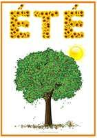 Affiche sur l été French Education, Kids Education, Play School Activities, Petite Section, French Phrases, Weather Seasons, File Folder Games, French Classroom, French Immersion