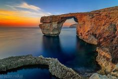 #Summer or #winter its always recommended to visit the Azure Window in #Gozo! Especially during #sunset   Featured Photographer: @peter.rajkai  Tag your #photos with #MaltaPhotography to get a chance to be #featured on @maltaphotography - http://ift.tt/1T1gqWE  #azure #window #sun #longexposure #sea #blue #colours #island #jj #Malta #January #Photography #love #me #instagramhub #instafamous #photooftheday #picoftheday #lonelyplanet #travel #destination #worlderlust #beautifuldestinations