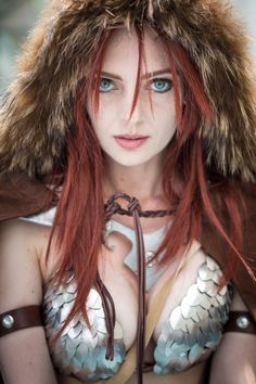 Red Sonja Cosplay - #SDCC San Diego Comic Con 2014