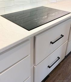 White and Gray Kitchen With Cambria Delgatie Village Home Stores Blog